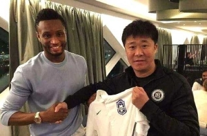 Mikel Completes Move To Chinese Super League Side, Tianjin TEDA (Photo)